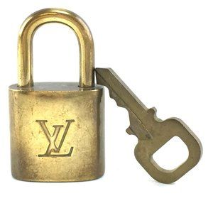 Louis Vuitton Gold Keepall Speedy Lock Key Set#323